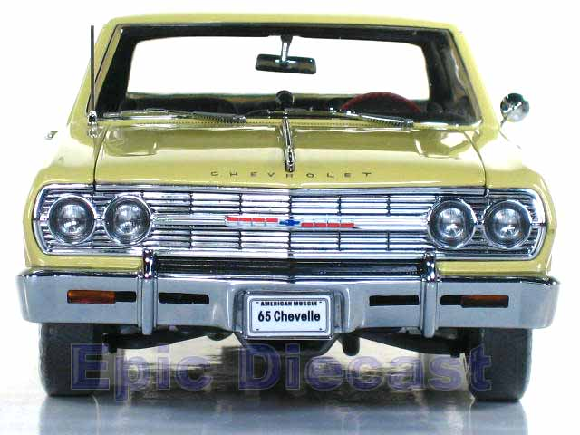 1965 Chevrolet Chevelle SS 396 1:18, Epic Diecast Cars from