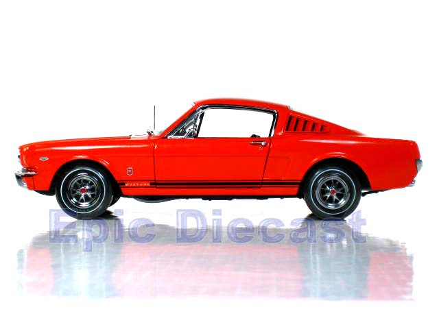 1965 Ford Mustang Fastback 1 18 Epic Diecast Cars From