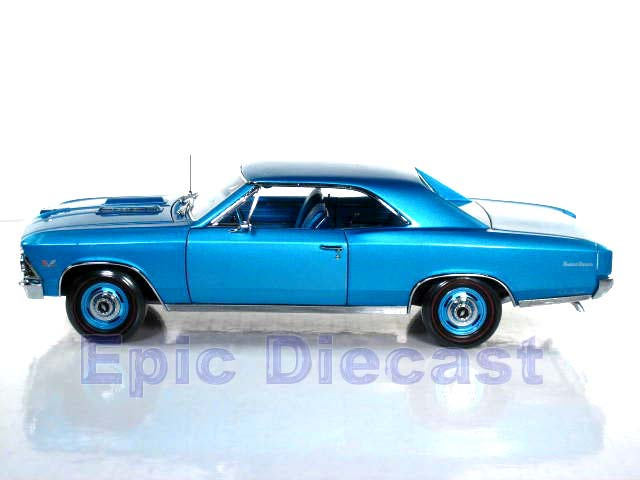Chevy Chevelle Ss Blue