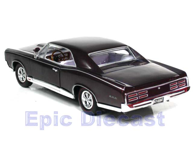 1967 Pontiac GTO 1:18 scale diecast car from American Muscle Diecast Cars
