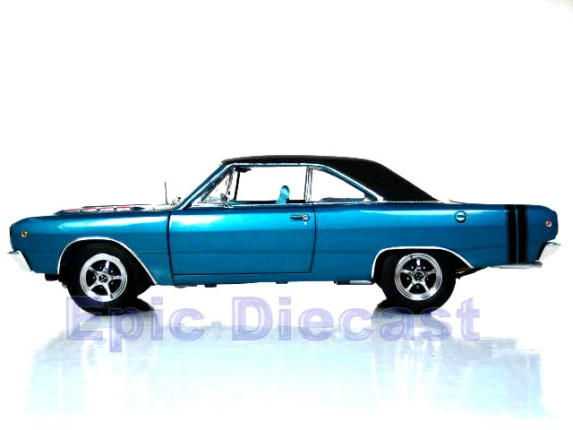 1968 Dodge Dart 1 18 Epic Diecast Cars From Chip Foose