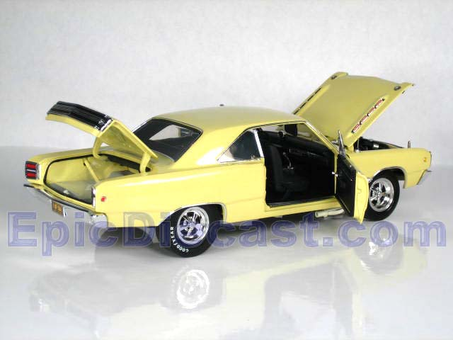 1968 Dodge Dart 440 1:18, Epic Diecast Cars from Chip Foose and GMP