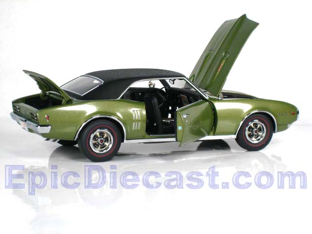 1968 Pontiac Firebird 400 ra1 1 18 Epic Diecast Cars From Chip Foose ...
