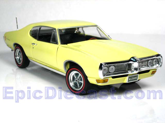 1968 Pontiac LeMans 1:18, Epic Diecast Cars from Chip Foose and GMP