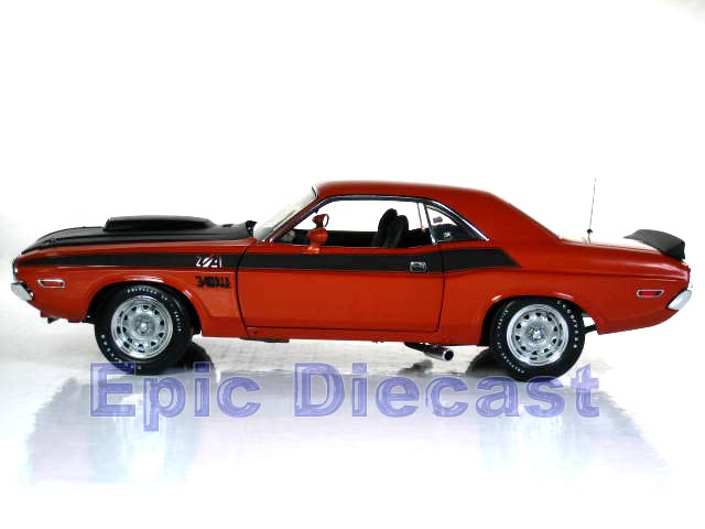 1970 Dodge Challenger T/A 1:18, Epic Diecast Cars from Chip Foose and GMP