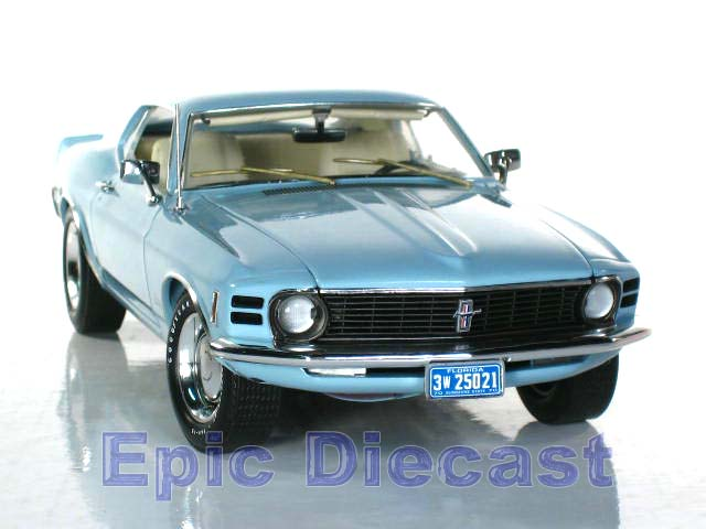 Mustang Cobra Jet >> 1970 Ford Mustang CJ428 1:18, Epic Diecast Cars from Chip Foose and GMP