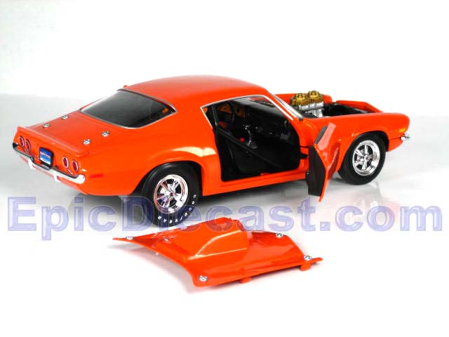 1970 Chevrolet Camaro Drag Car 1:18, Epic Diecast Cars from