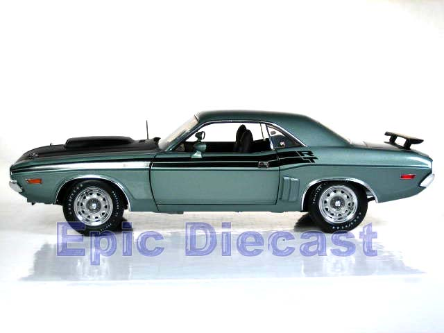 1971 Dodge Challenger R T 1 18 Epic Diecast Cars From