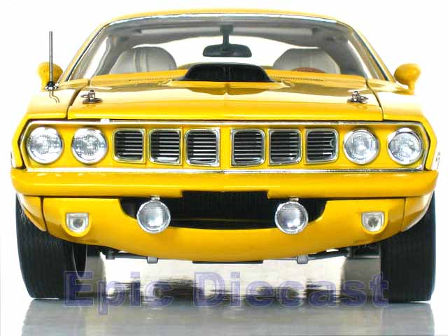 1971 Plymouth Cuda Hemi 1:18, Epic Diecast Cars from Chip Foose and GMP
